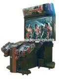 Máquina de jogo video do tiro da arcada do injetor do simulador