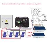 Солнечный инвертор вполне системы 24V-220V поставкы батарей 1kw силы домашней системы PV