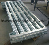 頑丈なスタック可能熱い電流を通された鋼鉄ポストパレット