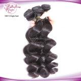 Weave indiano do cabelo de Remy da onda frouxa não processada natural do cabelo da alta qualidade
