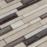 Mattonelle di ceramica del marmo della miscela del mosaico, mosaico Crack del ghiaccio