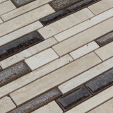 Keramische Mosaik-Mischungs-Marmor-Fliese, Eis-Crack Mosaik