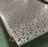 Подгонянные высоким качеством алюминиевые плакирование & потолок вырезывания лазера