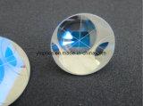 12.7mmの石英ガラスのRetroreflectorsの光学角の立方体ガラスプリズム