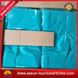 Caja de la almohadilla del hotel con la insignia del cliente de $ del color rojo