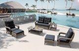 柳細工の屋外のテラスの家具の庭のランサロテ島のラウンジのホームホテルのオフィスのソファーはセットした(J288)