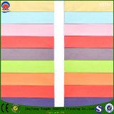 Tela impermeable tejida materia textil de la cortina del apagón de la capa del franco de la tela del poliester para la cortina confeccionada de la ventana