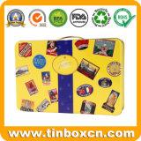昇進のための長方形の錫ボックス、金属のギフトの缶