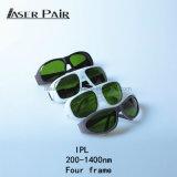 Cabelo do EN 169 do CE o melhor remove para os óculos de proteção de segurança Home dos vidros de segurança do uso da máquina IPL/IPL da beleza, proteção de olho do laser