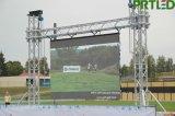 Visualización de pantalla a todo color al aire libre de la resolución LED de P3.91 HD para hacer publicidad