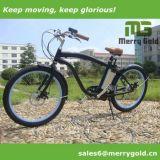 Heißer Verkaufs-Strand-Kreuzer-Typ elektrisches Fahrrad 36V 250With350With500W
