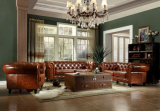 Moderno de cuero genuino Sofá Salón de muebles