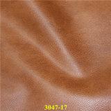 熱い販売の総合的なPUの物質的な靴革