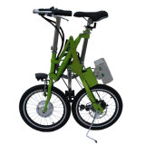 Велосипед батареи лития 18 дюймов складывая/Bike города электрический/велосипед стали углерода алюминиевого сплава складывая