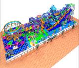 Do elogio do divertimento equipamento interno temático do campo de jogos sob o mar
