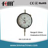 DIN878 измерительный прибор с круговой шкалой индикатора с круговой шкалой стандарта 0-10mm