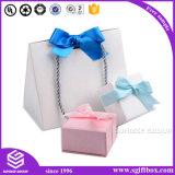 Handmade luxuosos recicl a venda por atacado feita sob encomenda da caixa de presente da jóia do cartão
