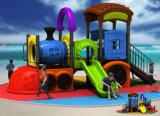 Neuer Kind-Spielplatz, im Freienspielplatz, Spiel gerieben (KY-10613)
