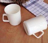 11oz de witte Ceramische Mok van het Handvat van C