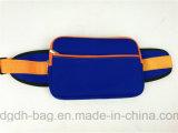 Courroie courante de chiquenaude en nylon de bonne qualité, sac imperméable à l'eau de taille de sac de taille de sport