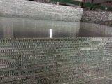 Los paneles de aluminio de nido de abeja
