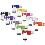 Привод вспышки USB шарнирного соединения самого дешевого логоса цены изготовленный на заказ для промотирования