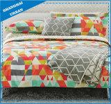 型の国はポリエステルパッチワーク様式のベッドカバーセットを印刷した