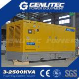 無声タイプ600kw/750kVA Cumminsのディーゼル発電機セット(GPC750S)