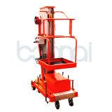 Elevación hidráulica movible de la plataforma de trabajo aéreo del mástil del fabricante directo (los 8m)