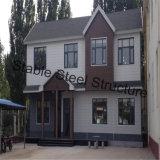 Casa prefabbricata della villa del blocco per grafici d'acciaio da vendere