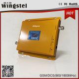 900 servocommande mobile à deux bandes de signal de 1800MHz 2g 3G 4G avec antenne d'intérieur/extérieure