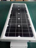 Éclairage solaire de réverbères de chaussée et
