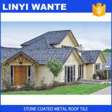 2016の安い建物の屋根ふき材料の高品質の石の上塗を施してある鋼鉄屋根瓦