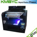 Máquina de impressão UV colorida do logotipo do diodo emissor de luz do tamanho A3 para o plástico