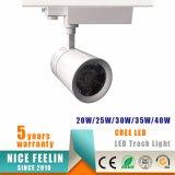 Luz do ponto da trilha do diodo emissor de luz da ESPIGA da alta qualidade 20W para a iluminação comercial