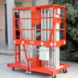 12 Aluminiumlegierung-der mobilen Luftmast-Meter Arbeitsbühne-(GTWY12-200SA)