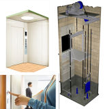 Edelstahl-sicherer energiesparender flexibler Passagier-Wohnaufzug