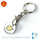 Moneda simbólica de encargo Keychain de /Trolley del carro de compras del supermercado