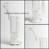 auf Lager 12 Zoll Mobius rauchende Wasser-Glasrohr-mit 60mm Trinkwasserbrunnen-Matrix Perc Fabrik