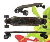 2017 het Skateboard van de Vezel van de Koolstof met Dubbele Motor