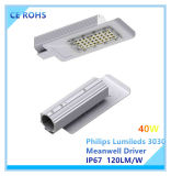 Luz ao ar livre Ultra-Magro do diodo emissor de luz de 60W a Philips Lumileds com certificação de RoHS do Ce