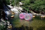 Le jeu de l'eau joue la bille gonflable transparente de Zorb de l'eau à vendre