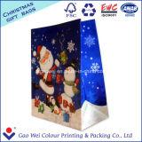Bolsas de papel de empaquetado recicladas alta calidad de encargo de los bolsos de las compras del regalo de la impresión