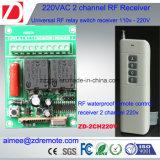 interruptor teledirigido 220V/12V/24V de 2channel el 1000m RF