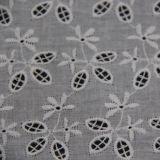 Tissu de lacet de broderie de coton pour des vêtements de Fation