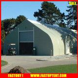 Grandi tende di sport del PVC di evento esterno di alluminio del tessuto con figura curva 30m da 35m