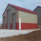 Fácil instalación Estructura de acero Garaje para coches Edificios