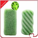 Spugna naturale di pulizia della fibra della spugna 100% Konnyaku del bagno della cellulosa