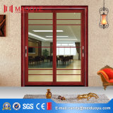 Раздвижная дверь веранды оптовой продажи фабрики Китая алюминиевая двойная стеклянная