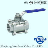 3PC Socket Weld Investment Casting AISI316 Ball Valve